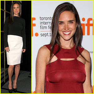 Jennifer Connelly Hits Toronto Film Festival
