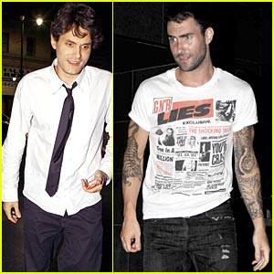 John Mayer & Adam Levine: Katsuya Cravings