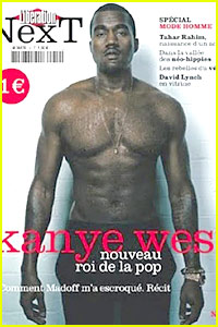 Kanye West: Shirtless For The French