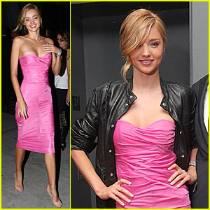 Miranda Kerr is Pretty In Pink