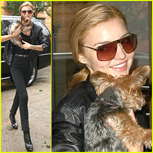 Miranda Kerr is a Puppy Yuppie
