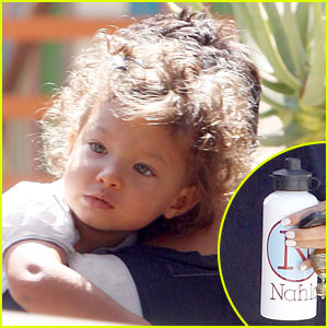 Halle Berry: Nahla is a Water Bottle Baby