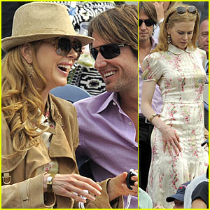 Nicole Kidman: U.S Open With Keith Urban!