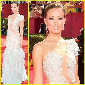 Olivia Wilde - Emmy Awards 2009