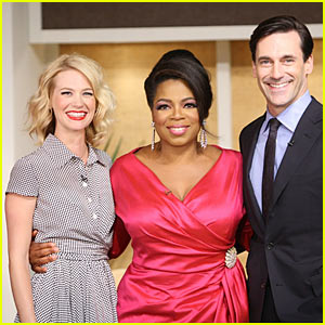 Oprah: 'Mad Men' Woman!