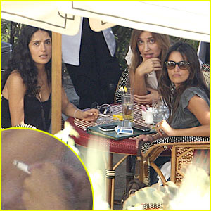 Penelope Cruz: Pregnant and Smoking?