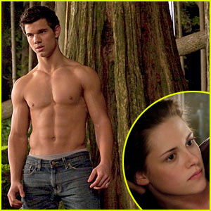 Taylor Lautner Shows Off Washboard Abs