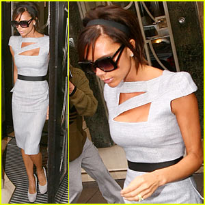 Victoria Beckham: Keen on Claridges