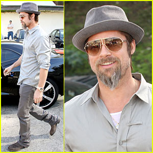 Brad Pitt: Fine After Fender Bender