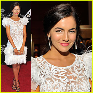 Camilla Belle is a Feathery Confection