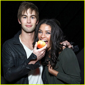 Jessica Szohr: The Apple of Chace Crawford's Eye