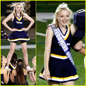 Dakota Fanning Crowned Homecoming Princess