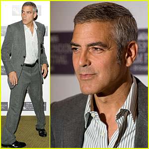 George Clooney Jokes about Adopting Brad Pitt's Ki