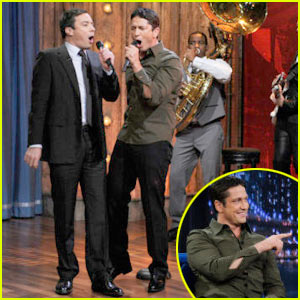 Gerard Butler & Jimmy Fallon: Singing Duo