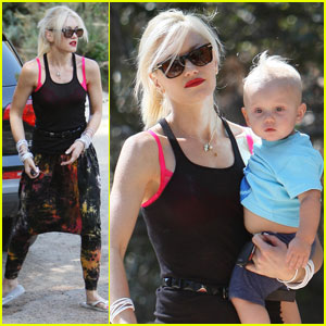Gwen Stefani: Kingston and Zuma's Park Playtime