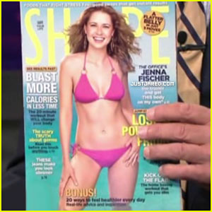 Jenna Fischer: Bikini Cover Girl for Shape Magazine!