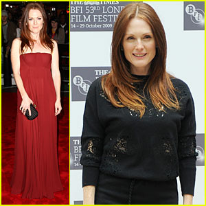 Julianne Moore Takes Chloe To London