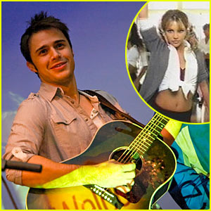 Kris Allen Covers Britney Spears: Hit Me Baby One More Time!