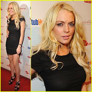 Lindsay Lohan Rocks the Kasbah