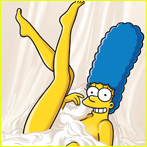 Marge Simpson Poses for Playboy