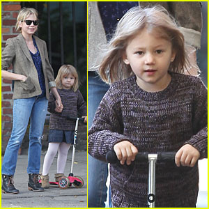 Matilda Ledger Scoots to School