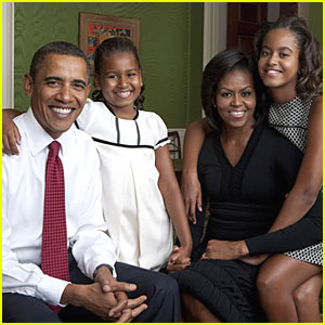 First Look: Official Obama Family Portrait