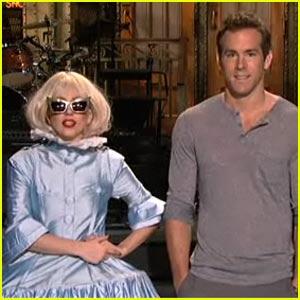 Ryan Reynolds & Lady Gaga: SNL Promo!