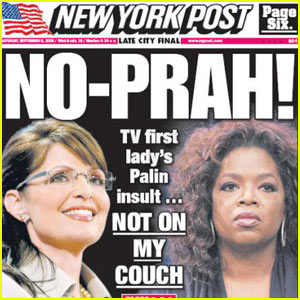 Sarah Palin's Oprah Interview To Air Next Month