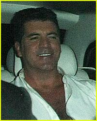 Simon Cowell Has A Birthday Bash