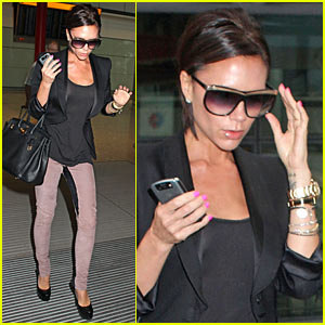 Victoria Beckham: 'Gossip Girl' Ready