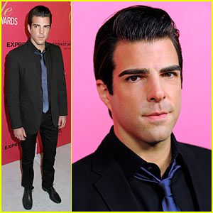 Zachary Quinto: Hollywood Style Awards!
