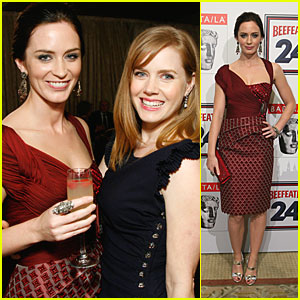 Amy Adams & Emily Blunt: BAFTA Beautiful