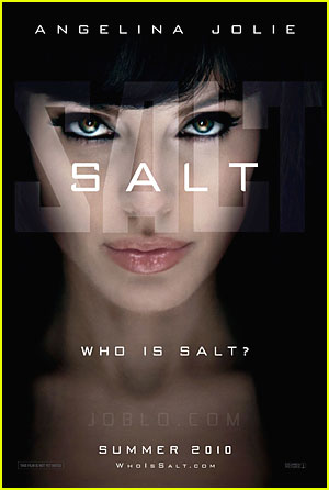 Angelina Jolie: New Salt Poster!