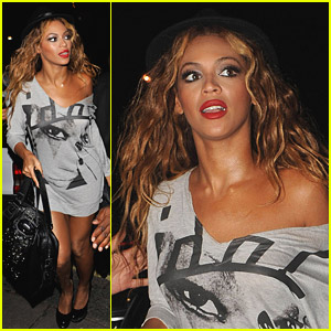 Beyonce Makes It To Mahiki