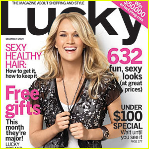 Carrie Underwood Covers 'Lucky' December 2009