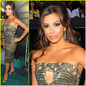 Eva Longoria is a Latin Grammy Goddess