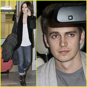 Rachel Bilson & Hayden Christensen: Thanksgiving in Toronto!