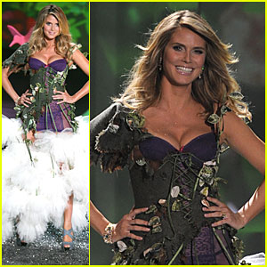 Heidi Klum -- Victoria's Secret Fashion Show 2009