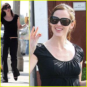 Jennifer Garner is Brentwood Beautiful