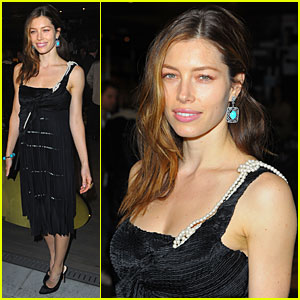 Jessica Biel is Prada Perfection