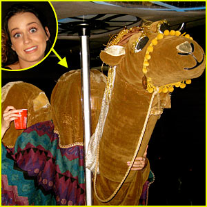 Katy Perry's Halloween Costume: Camel's Hump!