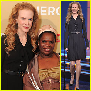 Nicole Kidman Honors CNN Hero Betty Makoni