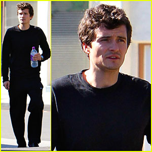 Orlando Bloom: Back in Black