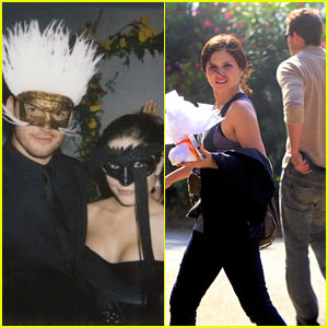 Sophia Bush & Austin Nichols Hit Masquerade Ball