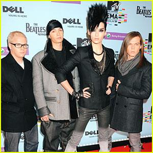 Tokio Hotel Take EMAs To The Next Level
