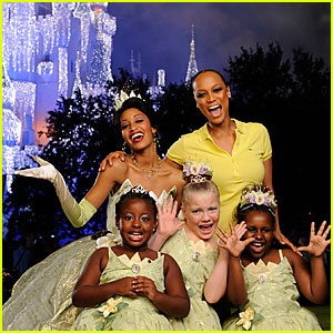 Tyra Banks & Princess Tiana: Disney Darlings