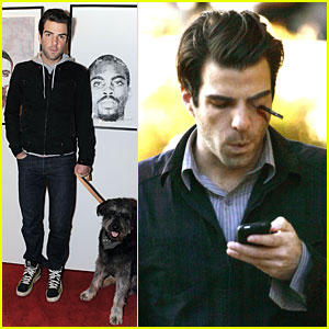 Zachary Quinto Gets Stabbed In Eye With Pen
