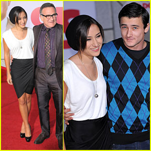 Zelda Williams Checks Out 'Old Dogs'