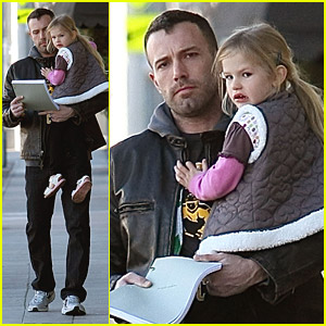 Ben & Violet Affleck Visit The Child Success Center