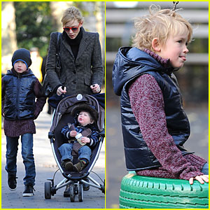 Cate Blanchett and Her Boys: Let's Play!